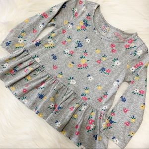 BABY GAP Floral Top Size 18-24 Months